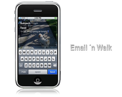 iphone-email-camminare