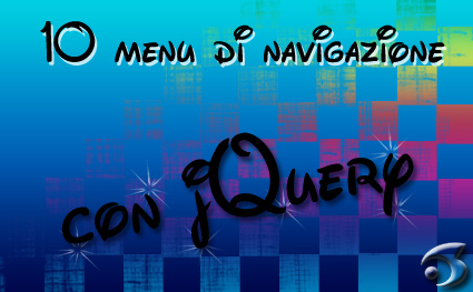 10 menu di navigazione con jQuery