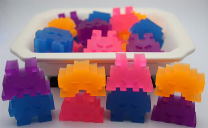 Saponette Space Invaders