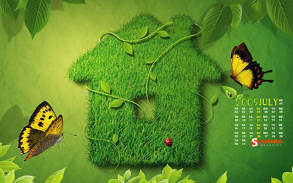Wallpaper Go Green