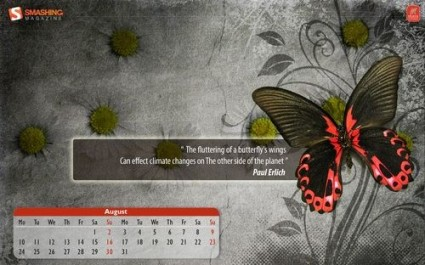 Wallpaper Butterly Effect